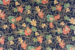 蜡染布印度尼西亚人布裙 库存照片