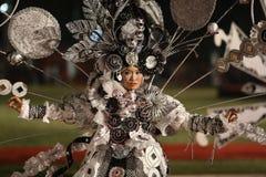 蜡染布狂欢节 库存图片