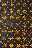 蜡染布设计 免版税库存图片