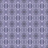 蜡染布部族瓦片样式 库存图片