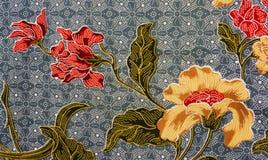 蜡染布马来西亚模式 库存图片