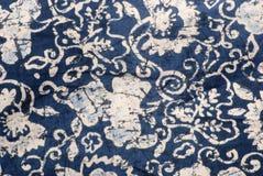 蜡染布织品 免版税库存照片