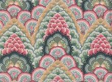 蜡染布coton印地安人 免版税库存照片