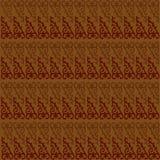 蜡染布Javanesse无缝的样式例证传染媒介 库存图片