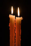 蜡烛二 免版税库存照片