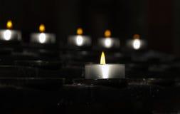 蜡烛光 免版税库存图片