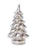 蜡烛圣诞节颜色银树 库存图片