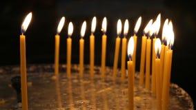 蜡烛在教会里