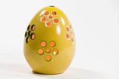 蜡烛复活节彩蛋 免版税库存图片