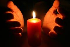 蜡烛复活节 免版税库存图片