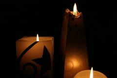 蜡烛形状 库存图片