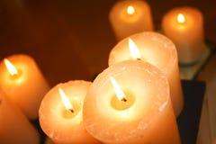 蜡烛批次 免版税库存图片