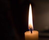 蜡烛教会 免版税库存照片
