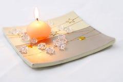 蜡烛星形 免版税图库摄影