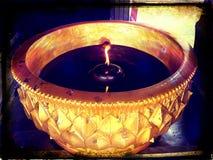 蜡烛水池 库存图片