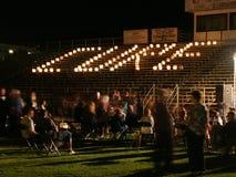 蜡烛治疗 免版税图库摄影