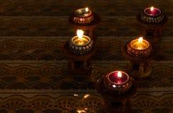 蜡烛泰国样式 库存照片