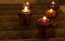 蜡烛泰国样式 免版税库存图片