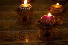 蜡烛泰国样式 图库摄影