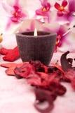 蜡烛温泉 免版税库存图片