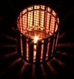 蜡烛灯笼 库存照片
