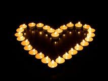 蜡烛牡鹿 库存图片