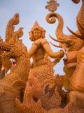 蜡烛狂欢节节日 免版税库存图片