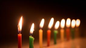 蜡烛生活 免版税库存照片