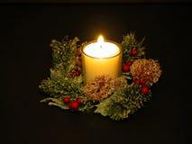 蜡烛白色 免版税图库摄影