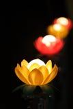 蜡烛的储蓄图象有软的背景 库存照片