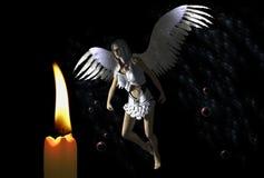 蜡烛矮子 图库摄影
