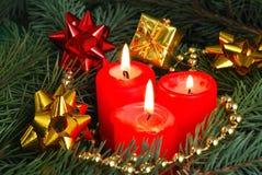 蜡烛红色 图库摄影