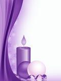 蜡烛背景 向量例证