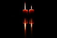 蜡烛艺术  免版税图库摄影