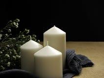 蜡烛花表 图库摄影