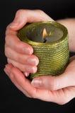 蜡烛藏品 库存照片