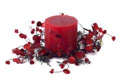 蜡烛装饰家 库存图片