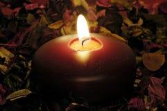蜡烛装饰 库存照片