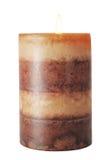 蜡烛褐色 库存图片