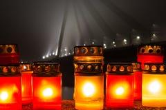 蜡烛记忆 库存图片