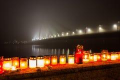 蜡烛记忆 图库摄影