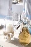 蜡烛酒 免版税库存图片