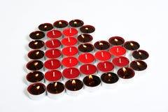 蜡烛重点 免版税库存图片