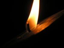蜡烛黑暗 免版税图库摄影