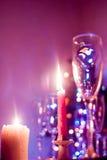 蜡烛 Boke 圣诞节 库存照片