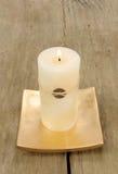 蜡烛feng苍白shui 免版税图库摄影