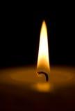 蜡烛makro 免版税库存图片