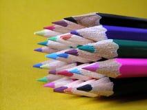 蜡笔 免版税图库摄影