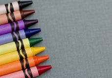 蜡笔 免版税库存图片