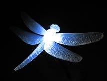 蜻蜓塑料 免版税库存照片